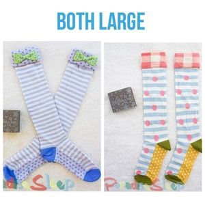 *NWT*: MJC: Tic-Tac Bow & Recess Run Socks.
